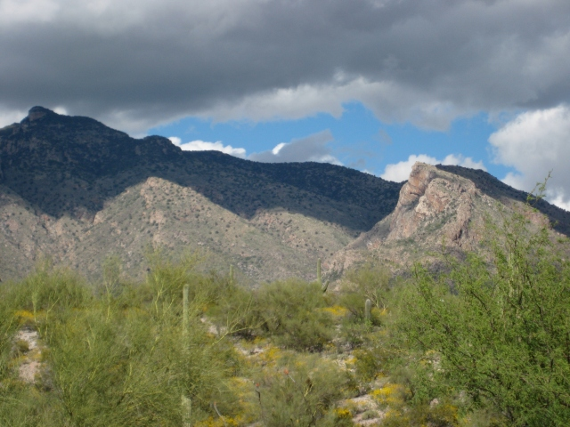 Brooding Tucson Mountains